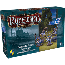 Runewars: Daqan Infantry Command Unit Upgrade Expansion