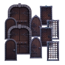 Dungeon Saga: Dungeon Doors Pack