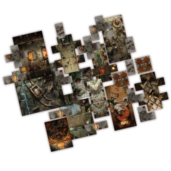 Dungeon Saga: Halls of Dolgarth Tile Pack